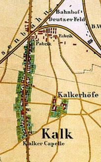 Kalk um 1865