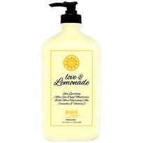 Love & Lemonade Aftersun Devoted Creations Zoncosmetica Zonnebank DHA bronzer Cosmetische Natuurlijk Face and Body Collection