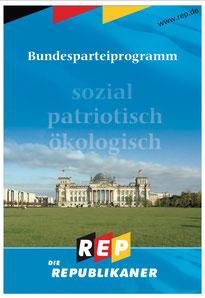 REP Parteiprogramm