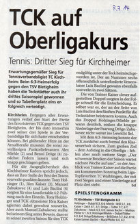 Quelle: Der Teckbote vom 08.07.2014