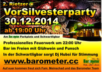 2. Vor Silvester Party im Barometer Rietz 2014 30.12.2014