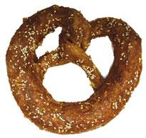 croci pretzel, rund kip hondenkluif