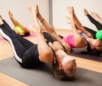 Frauen Yoga Matte