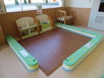 現在プレイルームであそべる「乳児コーナー」の画像です。