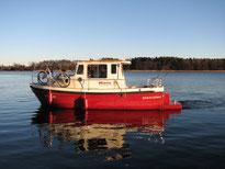 Boote mit möglicher deutscher Betreuung vor Ort