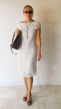 Robe blanche pour missBianchi