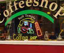 Coffee Shop Soft Temple Amsterdam
