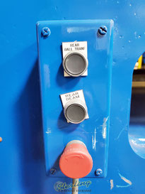 Rear Ball Tranf., Rear Beam and emergency stop buttons
