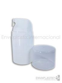 Botella ailress 50 ml, envase airless, envases cosméticos, dosificador para cremas