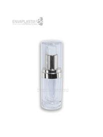 Botella de acrílico de 15 ml, envases cosméticos de acrílico