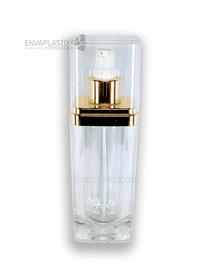 envases de acrílico de lujo para cosméticos, botellas de acrílico para cremas