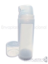 Envase airless pump 150 ml, botella airless, envases cométicos