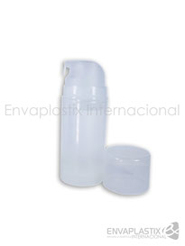 Envase airless pump 100 ml, botella airless, envases cométicos