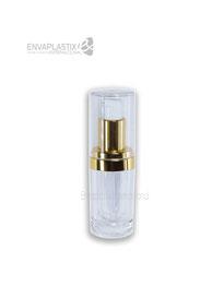 Botella de acrílico 15ml, envases cosméticos de acrílico