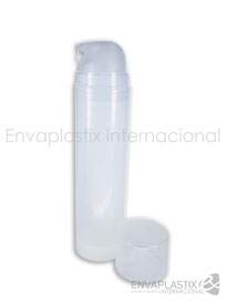 Envase airless pump 200 ml, botella airless, envases cométicos