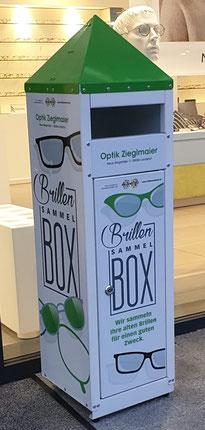 Wir sammeln Ihre alten Brillen für bedürftige Menschen!