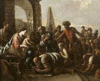 Le Nain Mathieu,L'adoration des Mages, XVIIe s., Abbeville Musée Boucher-de-Perthes
