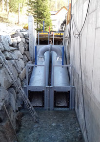 fish ladder / fish lock Alm