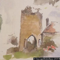 Porte médiévale de Jû-Belloc