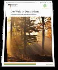 Ergebnisse der Bundeswaldinventur für Deutschland 2014