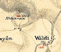 Sulzbergkarte 1835