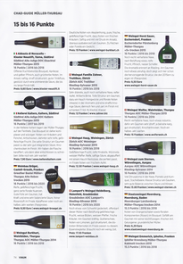 Auszug aus dem Fachmagazin Vinum (Ausgabe Mai 2016)