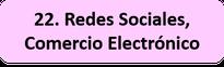 Redes Sociales, Comercio Electrónico