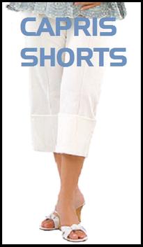 maternity capris, shorts