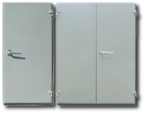 Acoustical doors RW52dB