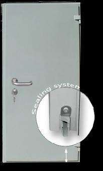 Acoustical doors RW 37 dB