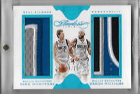 DIRK NOWITZKI & DERON WILLIAMS / Dual Patch - No. DD-DALL  (#d 9/10)