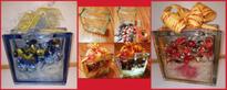 Craftblocks Craft Box - Present Gift Glass Blocks - Geschenk Glasbaustein 19x19x8 190x190x80 Wave Wolke Seves Vitrablok Glasbausteine Glassteine Glasstein Bauglas Luxfer Glass Blocks Österreich Schweiz Belgien Luxemburg Liechtenstein Wien München Berlin D