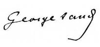 Signature de George Sand