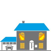 Brandschaden & Löschwasserschaden