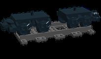 THW Eisenbahn-Radkonstruktionen