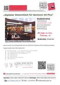 digitaler Stammtisch 55+ - digitale Welten 55+ - Bildung im Alter - Leben in der 3. Generation