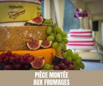 Pièce montée aux fromages