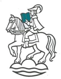 Lesender Waldreiter