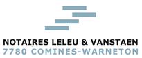 logo de notaires Leleu & vanstaen