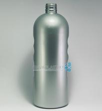 Envase boston 1 lt. PET plata, Botella PET 1000ml.