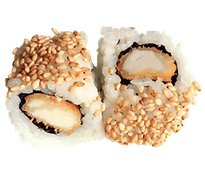 Chicken Rolle  Fritierte Hähnchenstücke  mit japan. Mayo u. Sesam  C, K