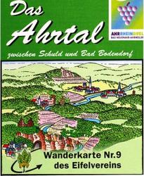 Wanderkarte Ahrtal
