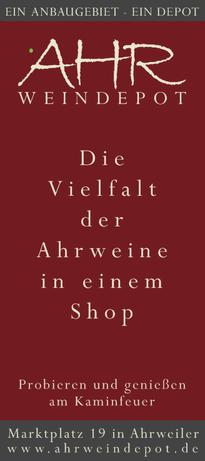 Ahrweindepot in Ahrweiler