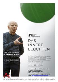 Welt-Alzheimertag 2019 - Veranstaltung der Alzheimer Gesellschaft Frankfurt