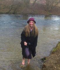 Foto Inga in der Würm