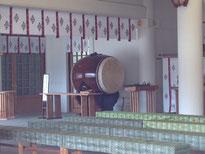 護国神社の太鼓