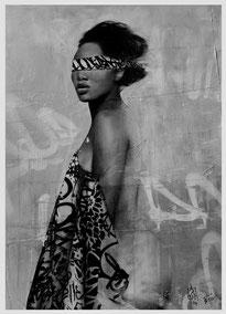 HUSH Nubian Princess mini Print, 2014