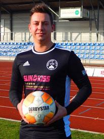 Moritz Blasberg ackerte viel und belohnte sich am Ende mit einem Treffer.