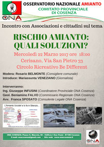 Rischio Amianto Cosenza