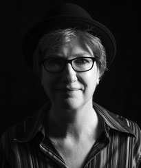 Jutta Leber Porträt mit Hut